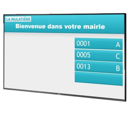 panneau expérience-client SNCF
