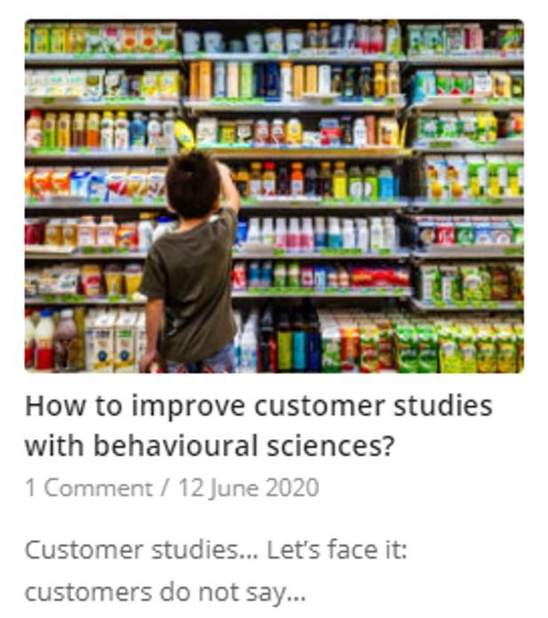 packaging consumer studies
