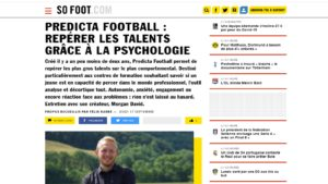 couverture Predicta football sofoot