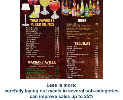 menu example 1