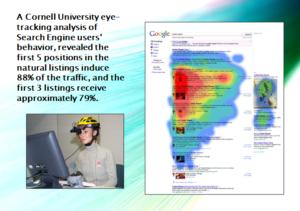 études consommateurs eye-tracking