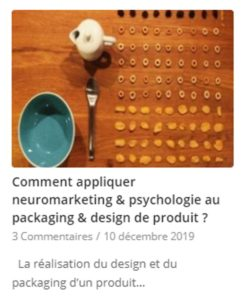 tests consommateur packaging